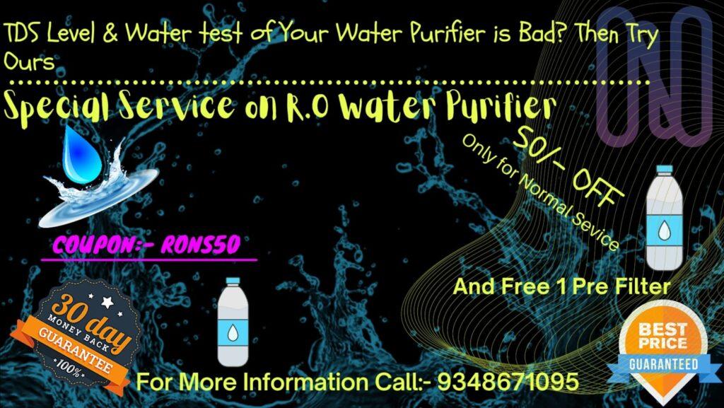 Water Purifier Offer
